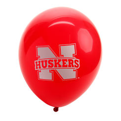 Red Nebraska Husker Balloon